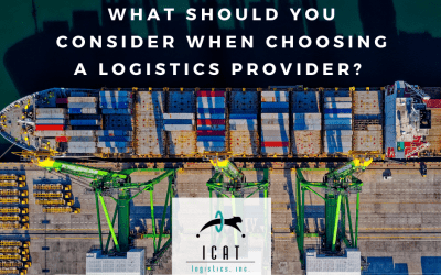 What to consider when choosing a logistics provider?