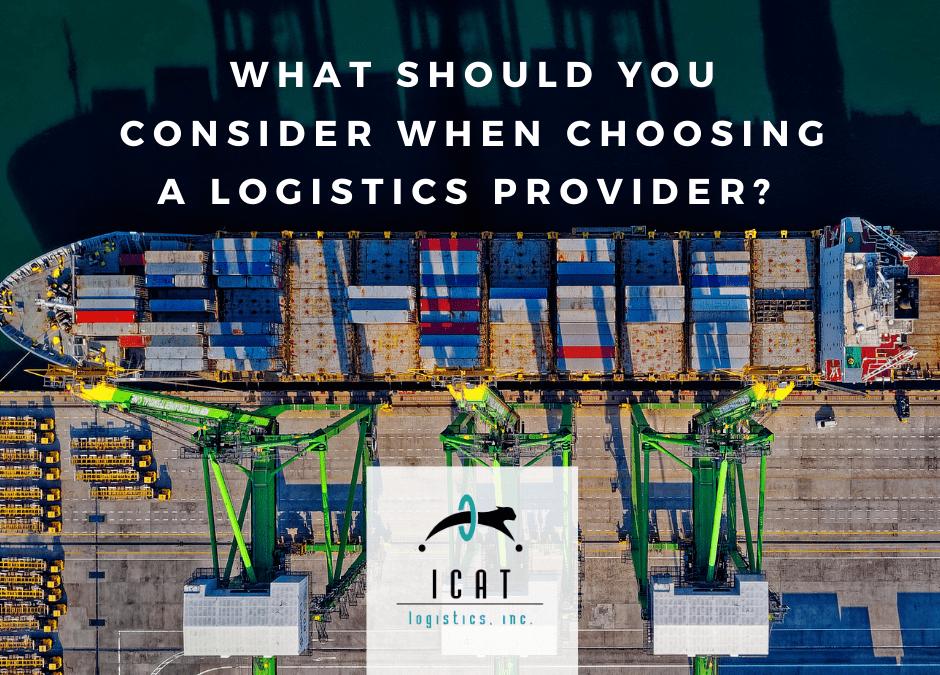 Best Logistics Provider