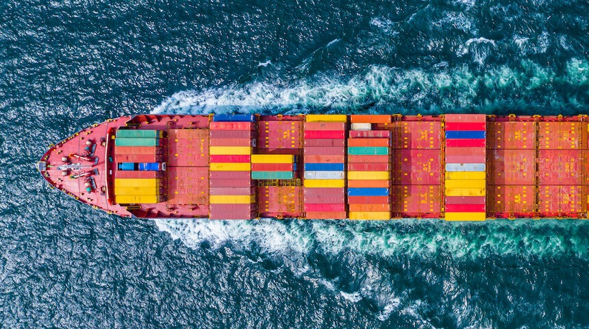 icat logistics boat water - Ocean / Sea Freight Shipping
