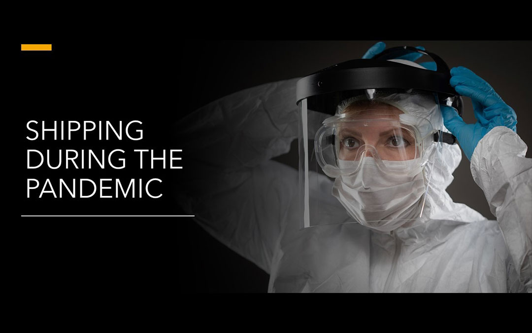 shipping during the pandemic - Home