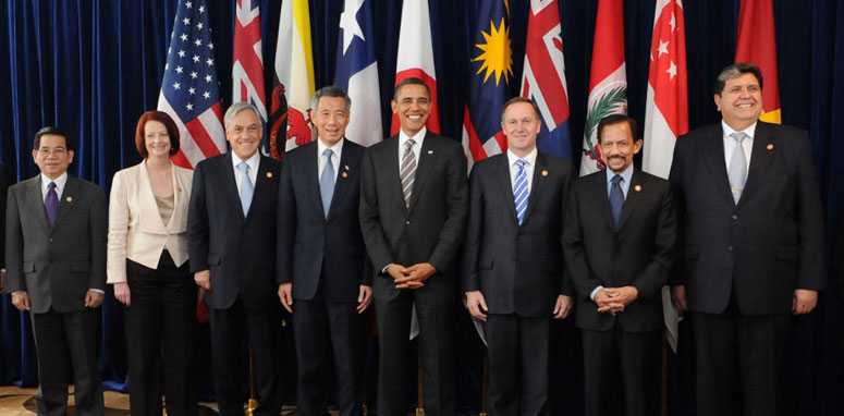 obama standing with other men