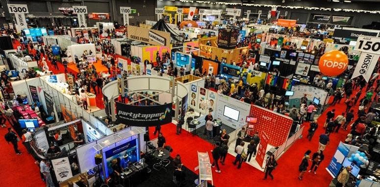 trade show red carpet